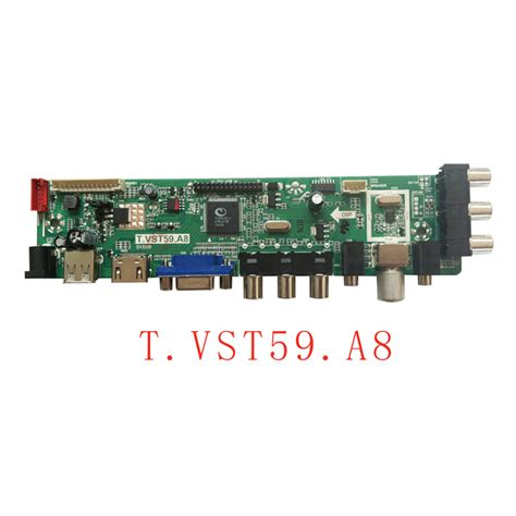 t vst59 a8 lcd led tv controller board chipset tsumv59xu lcd tv board vantron technology limited