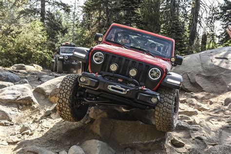 Jeep Photo by Review 2018 Jeep Wrangler Rubicon Joyously Tackles Trails