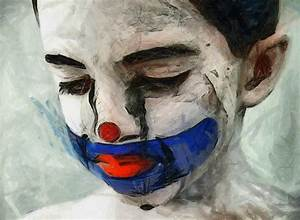 Sad Clown Boy by Jessica-Art on DeviantArt