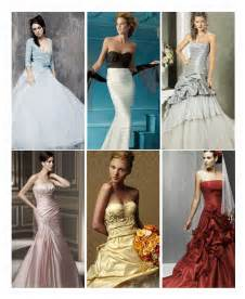 colored wedding dresses the politics of wedding gown color thefeministbride