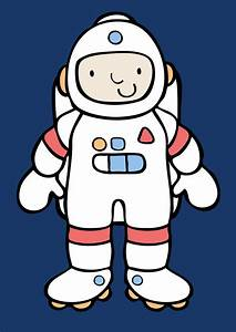 Astronaut Template - Pics about space