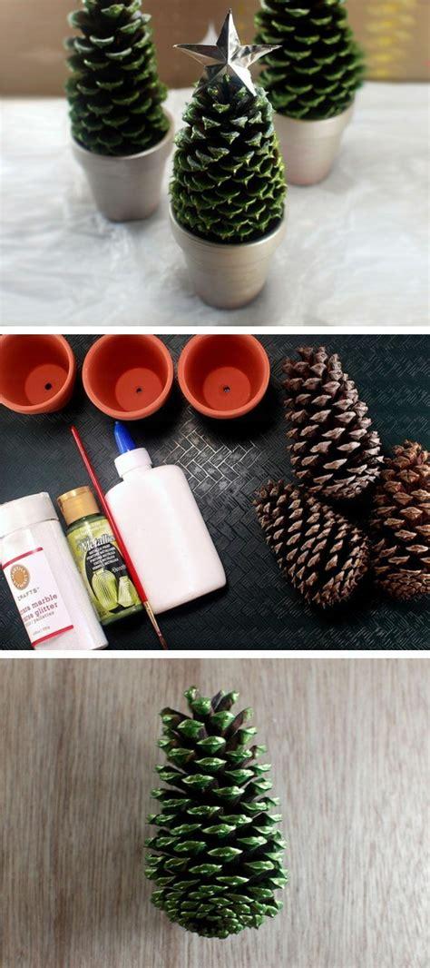 basteln mit tannenzapfen weihnachten basteln mit zapfen 55 tolle diy dekoideen zu weihnachten
