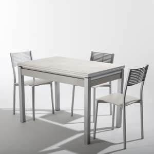 Table De Cuisine Grise : table en c ramique 4 ~ Teatrodelosmanantiales.com Idées de Décoration
