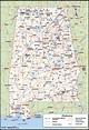 Alabama Counties Map   Maps.com.com