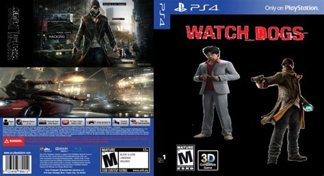 Watch Dogs Ugly Cover Playstation 4 Box Art Cover By Vicseie