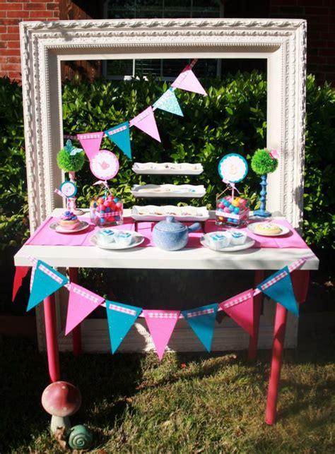 mad hatter tea decoration ideas kara s ideas mad hatter whimsical tea planning ideas decorations cake