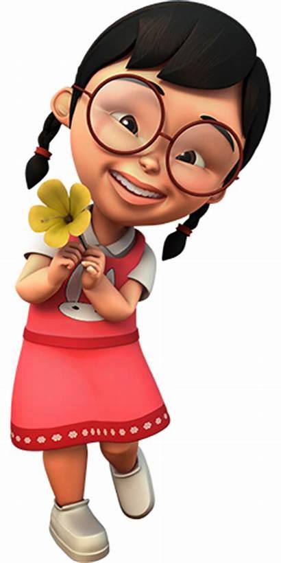 Upin Ipin Mei Cartoon Dan Characters Meimei