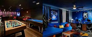 50 Gaming Man Cave Design Ideas For Men - Manly Home Retreats
