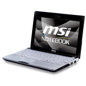 msi u120 netbook windows xp windows 7 drivers applications manuals notebook drivers