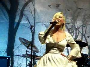 """In This Moment """"daddys falling angel"""" Front Row Live - YouTube"""