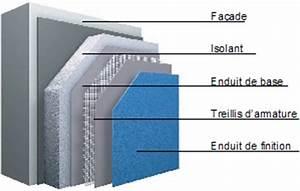 Isolation Extérieure Enduit : enduit isolant thermique interieur pas cher ~ Nature-et-papiers.com Idées de Décoration
