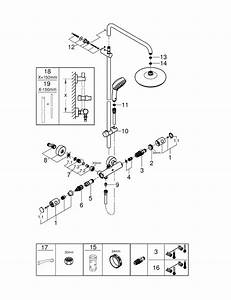 Tempesta Cosmopolitan System 210 Shower System With