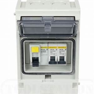 Consumer Unit With Rcd