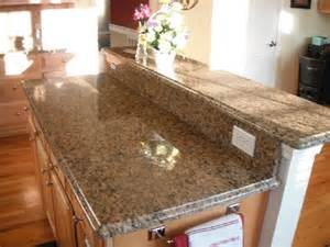 Light Color Cabinets with Granite Countertops
