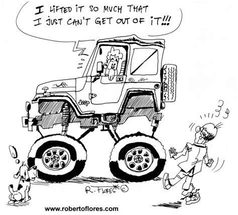 jeep cartoon offroad jeep cartoon offroad images