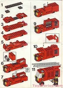 Lego 6382 Fire Station Set Parts Inventory And
