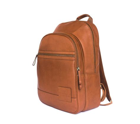tan alps backpack laptop backpack tan leather backpack