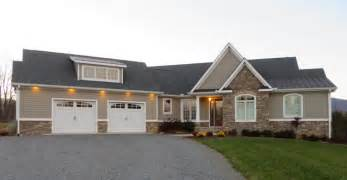 craftsman house plans with walkout basement walk out basement home plans from don gardner architects craftsman exterior by