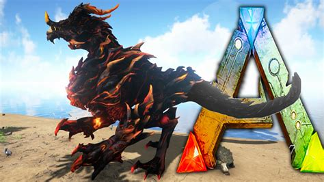 ark survival evolved dragon god sacrificial alter pet
