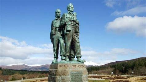 spean bridge commando memorial expanded bbc news