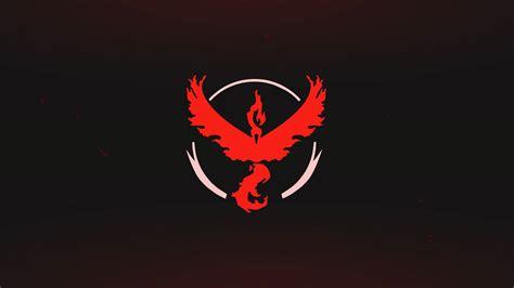 wallpaper pokemon  logo red team valor mobile