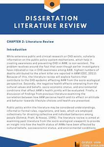 Introduction Of A Literature Review How To Write