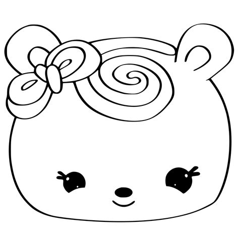 num noms coloring pages book sel  sweet treats
