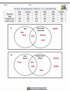 2d Shapes Venn Diagram Worksheet Year 1