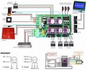 Delta 3d Printer K250 Elettronica