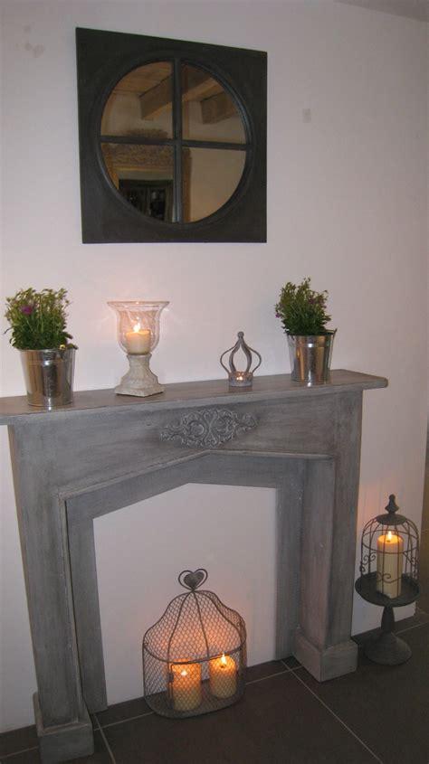 decoration de chambre déco fausse cheminée