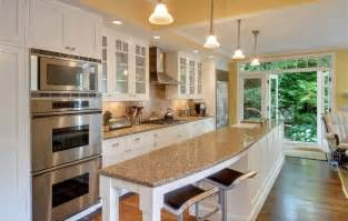one wall kitchen with island designs galley kitchen with island and only one wall galley kitchen island open to living