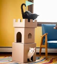 cat castle make a cardboard cat castle chicago cardboard castle