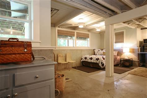 creating an airbnb worthy basement renovation inside