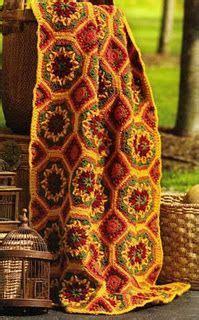 gorgeous autumn crochet color palette  bedroom blanket