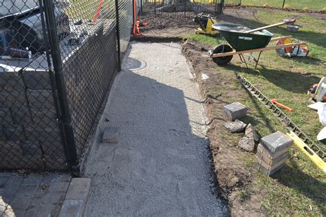 paver base material cost how to install brock paver base black apron