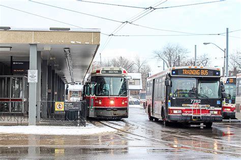 buses  replacing streetcars   ttcs  carlton