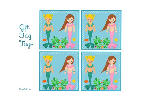 mermaid birthday party printables catch  party
