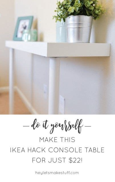 ikea hack console table shorts ikea hacks and storage