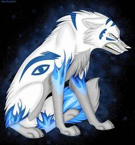 Gallery For > White Wolf Pup With Blue Eyes Anime | WOLF ...