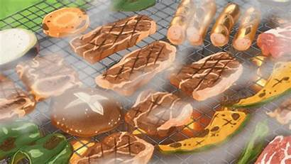Anime Silver Spoon Animated Meat Barbecue Weheartit