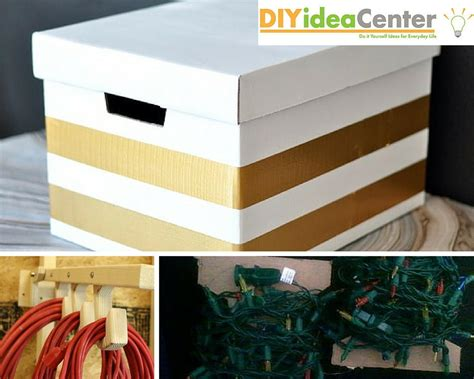 diy storage ideas   store christmas decorations