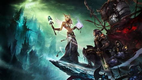 World Of Warcraft Animated Wallpaper - world of warcraft hd wallpaper and background image