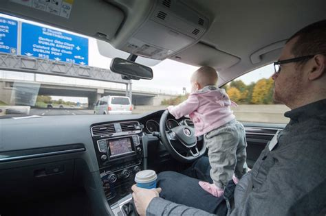 dad photoshops  baby  dangerous situations  freak