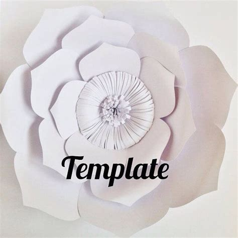 Paper Flower Templates Martha Stewart by 140 Best Images About Paper Flowers On Martha