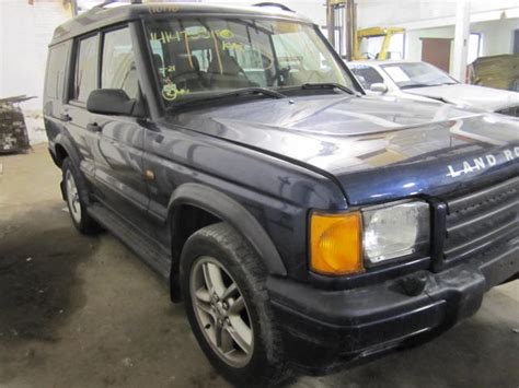 Parting Out 2002 Land Rover Discovery
