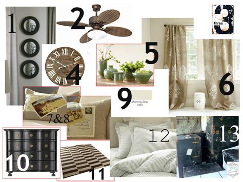 Bedroom Makeover Design Board  Diy Show Off ™  Diy