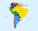 South America Continent In Details and Fun Fact | Rabbitsabc