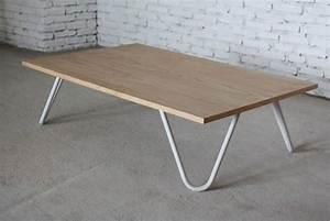 Pied De Table Basse Design : pieds metal pour table basse maison design ~ Preciouscoupons.com Idées de Décoration