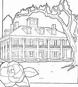 Coloring Pages Adults Mansion Haunted Sheets Houses Printable Preschoolers Getcolorings Fantasy Preschool sketch template