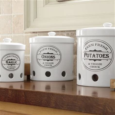Set of 3 Vented Storage Canisters from Montgomery Ward